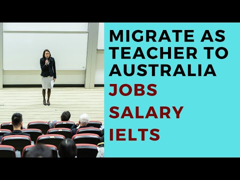 How To Get Teaching Job In Australia | Jobs In Australia | High Salary Jobs | Migrate School Teacher