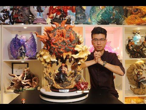 Naruto, Surge Pain Akatsuki Resin Statue Unboxing.