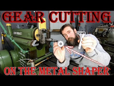 GEAR CUTTING ON THE METAL SHAPER