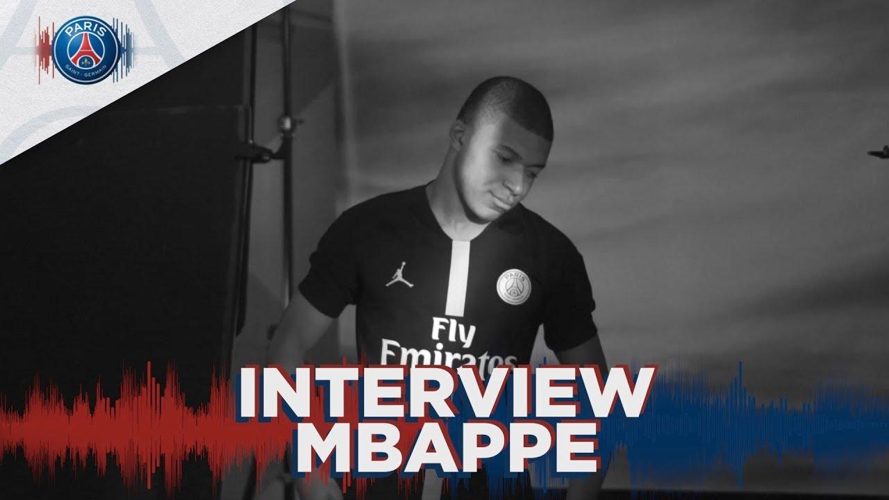cheaper 281b6 d2152 PSGxJORDAN : INTERVIEW KYLIAN MBAPPÉ (FR & UK)
