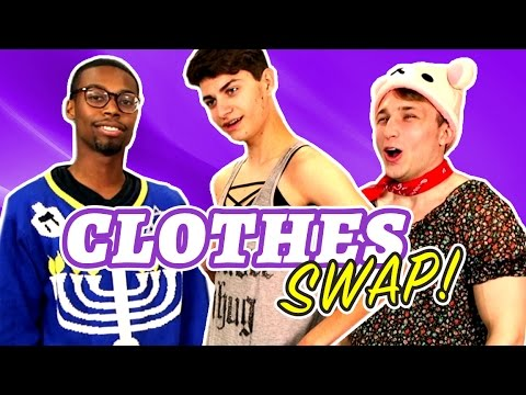 CLOTHES SWAP CHALLENGE (Squad Vlogs)