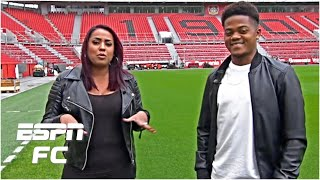 Leon Bailey's Admiration For Ronaldinho & The Art Of Dribbling | Espn Fc Archive
