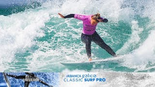 World's Best Drop Massive Scores on Opening Day, ABANCA Galicia Classic Surf Pro Highlights