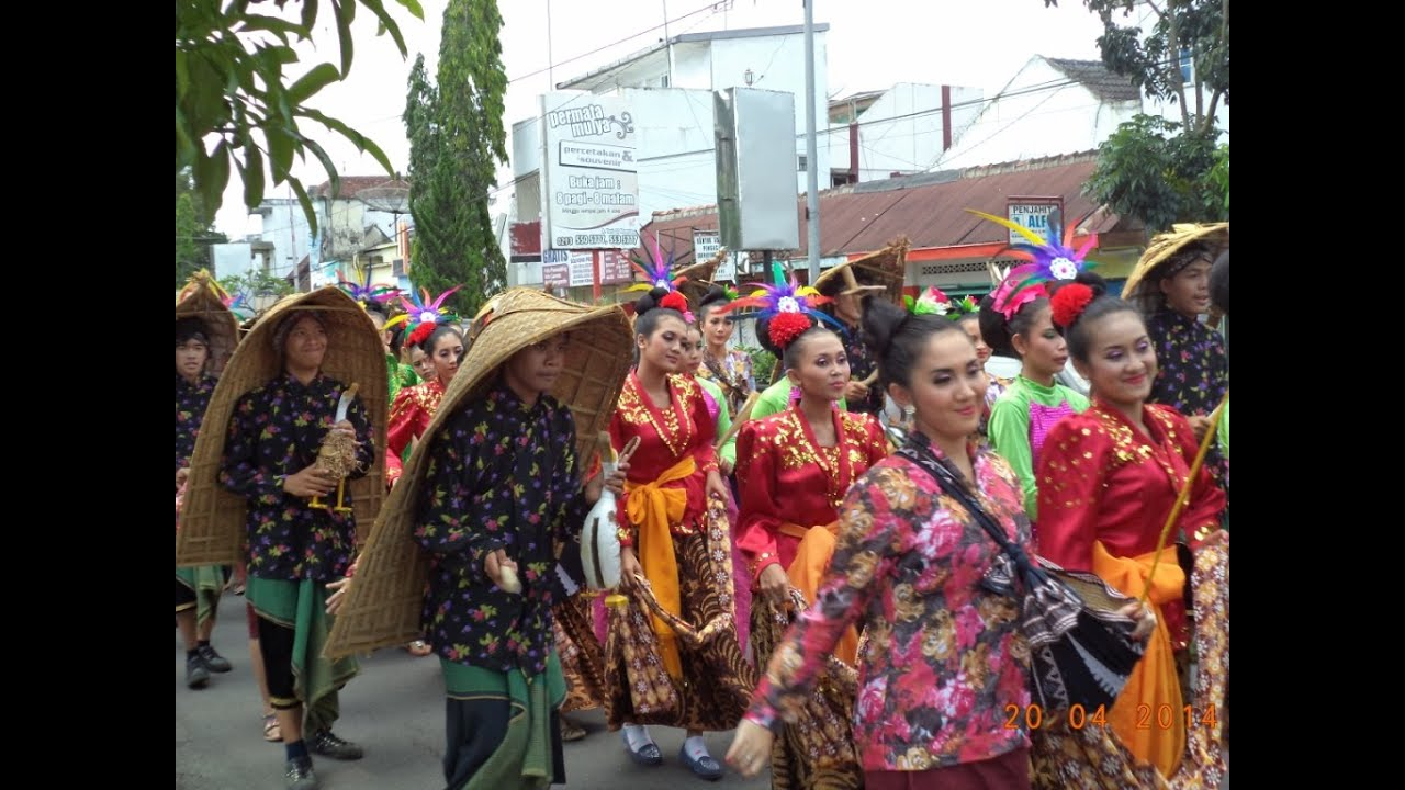 SMA N 5 Magelang Kirab Budaya Kota Magelang Tahun 2020
