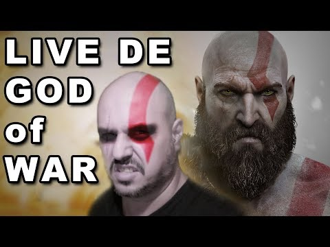 🔴 LIVE de GOD OF WAR ★ #3 ★ Venha Se Divertir ★