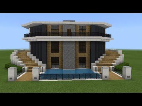 Minecraft Modern Ev Yapımı 🏠