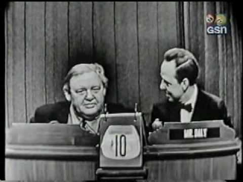 Charles Laughton on What's My Line?