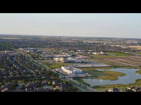 Frisco Texas Drone Flight and Ariel View