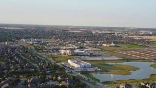 Frisco Texas Drone Flight and Ariel View Video