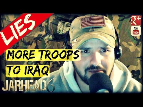 "1500 Additional Troops To Iraq For ""NON-COMBAT"" Roles: Radio Show EP #2"