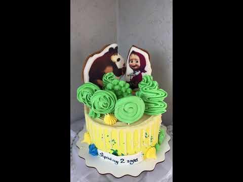 Торт « Маша и медведь»