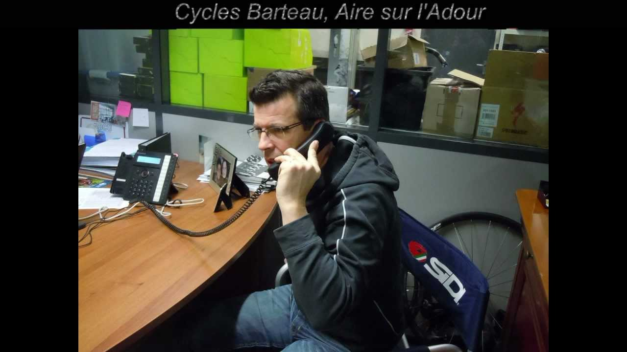 cycles barteau aire sur l 39 adour youtube. Black Bedroom Furniture Sets. Home Design Ideas