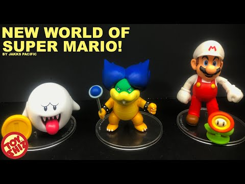 Ludvig, Boo! NEW World Of Super Mario Figures By Jakks Pacific