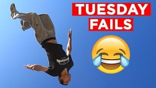 TUESDAY TUMBLES!! FEB. #4 | Weekly Fail Videos From IG, FB, Snapchat And More!! | Mas Supreme