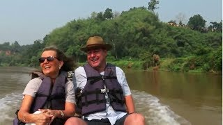 Arriving at Four Seasons Tented Camp  Golden Triangle