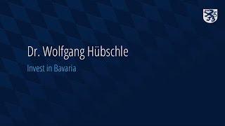 Wachstumschancen für chinesische Unternehmen am Standort Bayern - Dr. Wolfgang Hübschle
