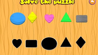 "Preschool Basic Skills, Shapes ""EducaGames. The best educational apps for kids"" Android Gameplay"