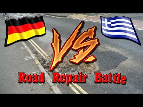 Road Repair Battle (Greece vs Deutsche)