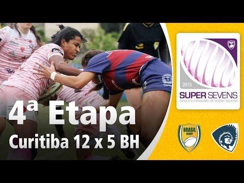 Super Sevens Feminino 2015 4ªetapa  Curitiba 12 x 5 BH Rugby