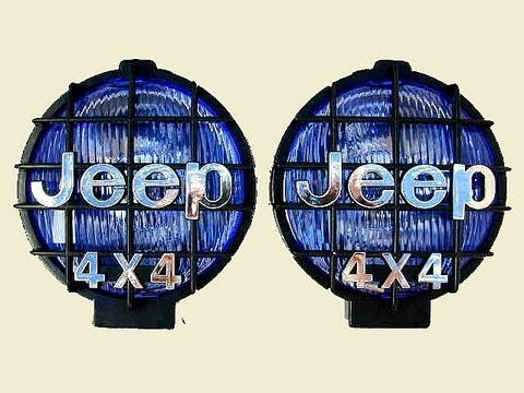 Fog light installation without a relay, and wiring tutorial (Jeep