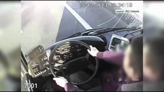 Raw: Driver Passes Out, Women Grab Wheel