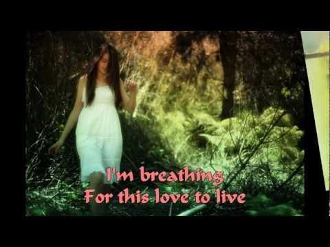 BREATHING~~ANGGUN C SASMI~~WITH LYRIC~~2012