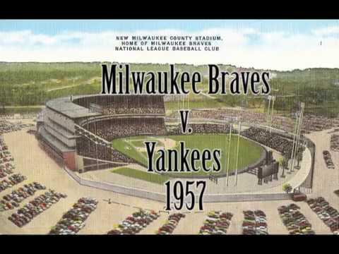 Milwaukee Braves 1957 World Series Game 4 home video