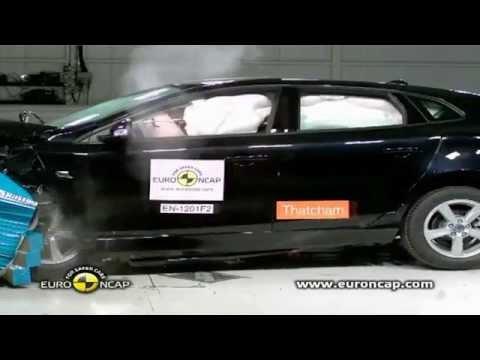 Crash Test 2012 New Volvo V40 - 5 Stars Euro NCAP