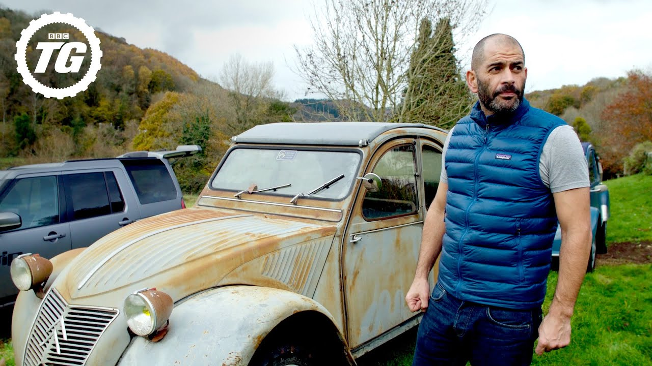 Chris Harris drag races his glorious old Citroën 2CV | Chris Harris Drives | Top Gear