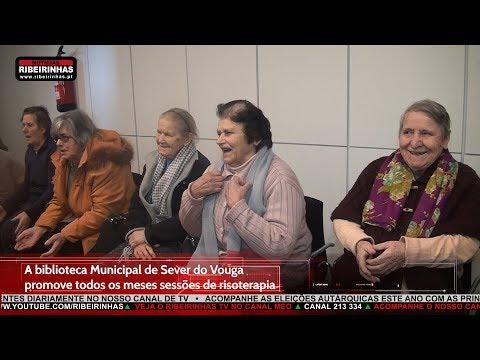 """""""Rir é o melhor remédio"""" na Biblioteca Municipal de Sever do Vouga"""
