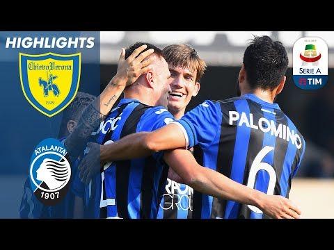 Chievo 1-5 Atalanta |Iličić Hat-Trick Sinks 10 Man Chievo | Serie A
