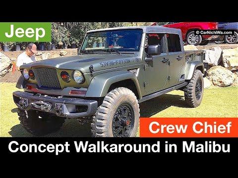 Jeep Crew Chief 715 Concept Walkaround in Malibu   CarNichiWa.com