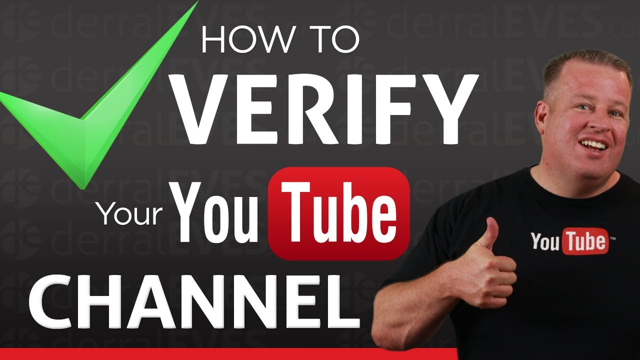 how to verify account