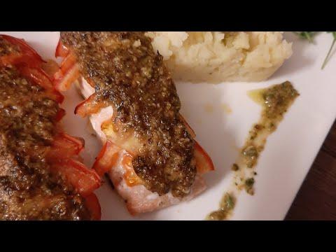 recette-express,-saumon-au-four