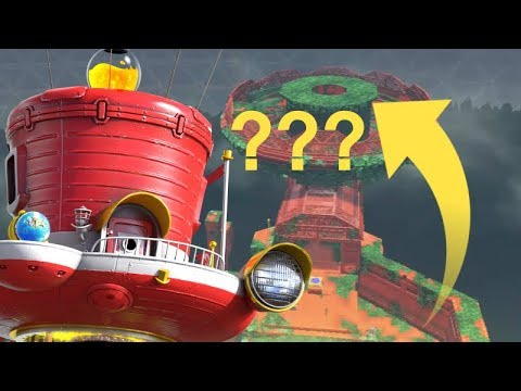 Wooded Kingdom's IMPOSSIBLE Secret in Mario Odyssey?