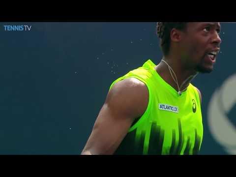 Gael Monfils Top 5 Brilliant Highlights In Djokovic Thriller - Rogers Cup 2014
