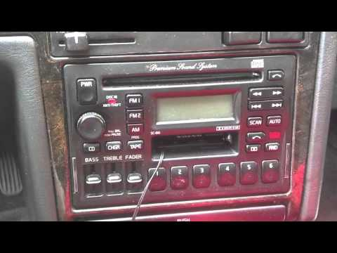 How to find a Volvo radio code, 850, 960, S70, C70, etc. - VOTD