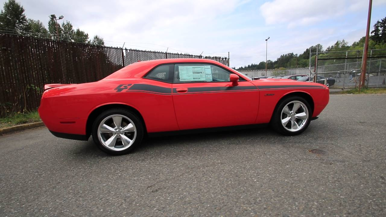 2016 dodge challenger r t plus go mango gh309334 redmond seattle youtube. Black Bedroom Furniture Sets. Home Design Ideas