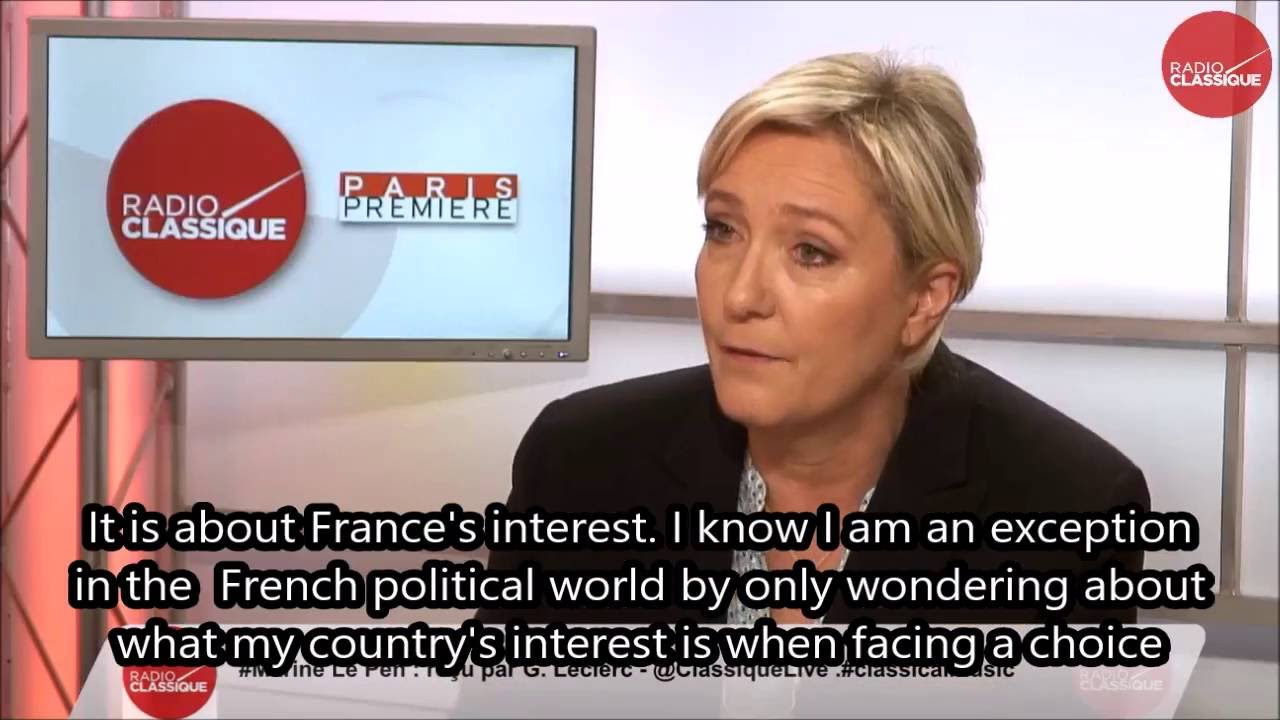 maxresdefault donald trump endorsed by marine le pen youtube