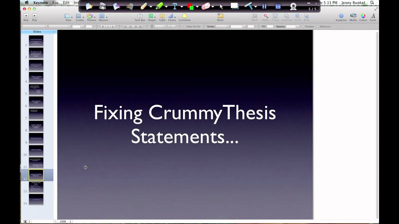common problems with thesis A related problem to connecting the main points to the thesis statement is failing to provide adequate and relevant support for the assertions made in the custom research paper first, especially in persuasive research papers, it is necessary to substantiate all assertions made so that the argument is strong.