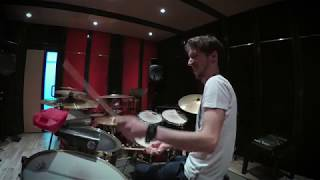 Valentino Vitali timba drums tribute to Riveron (Sacude la mata by Manolito)