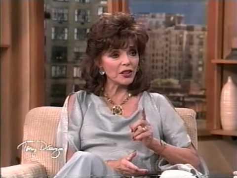 Joan Collins on Tony Danza Show part 1