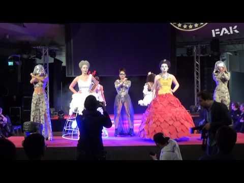 Freie Akademie Köln - Fashion Show 09.01.2017 - Volle Länge