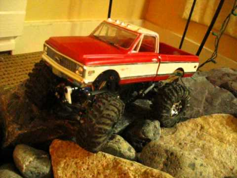 1972 Chevy Micro RC Crawler Losi