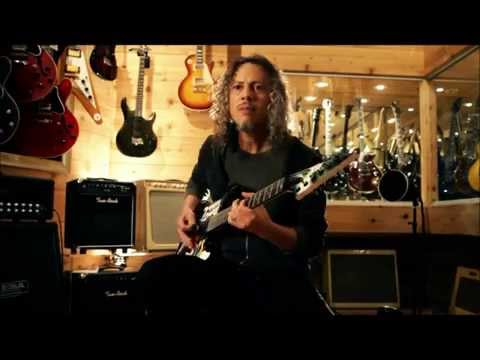 Kirk Hammett playing My Apocalypse riff