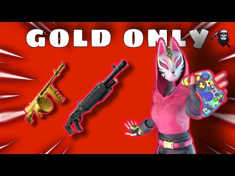 i can ONLY use gold weapons in Fortnite...(Very hard) ( ͡° ͜ʖ ͡°) from YouTube · Duration:  10 minutes 31 seconds