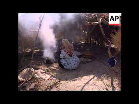 Thousands of Afghani refugees living in stark conditions on the Tajikistan border