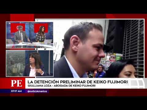 Aboga de Keiko Fujimori habla sobre detención de su defendida