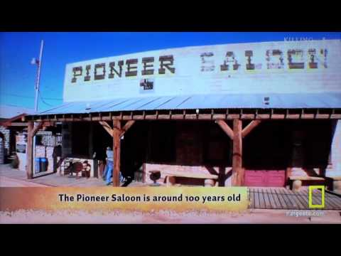 Nat Geo DIGGERS - GOLD THIEF - THE GUYS VISIT THE PIONEER SALOON