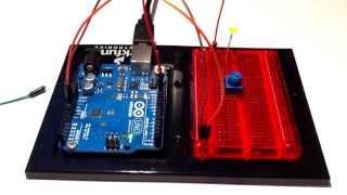 Уроки arduino. Урок 2. Потенциометр